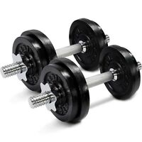 Yes4All 50 lb Adjustable Weight Dumbbells for Gym Fitness (a Pair)