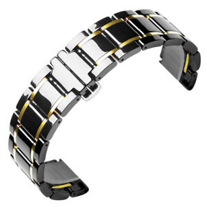 Ceramic Link Band iWatch Strap Bracelet for Apple Watch 7 6 5 4 3 38/40/42/44mm
