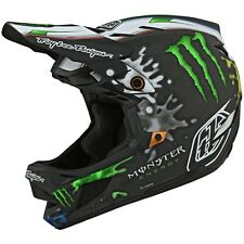 Troy Lee Designs D4 Carbon Helmet MIPS TLD Bmx Mtb Dh Downhill Gear MONSTER ZINK