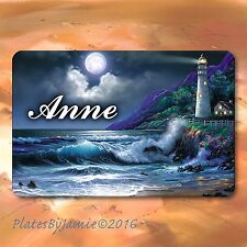 Personalized Custom Any Name Lighthouse SIGN Wall Plaque New