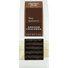 Philadelphia Candies Chocolate Graham Crackers, Dark Chocolate Covered 9 Oz Gift