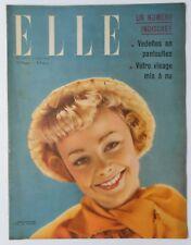 ►ELLE 180/1949 - GABRIELE DORZIAT - EDWIGE FEUILLERE - JEAN SIMMONS