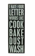 Unbranded Letter Box Decorative Plaques & Signs