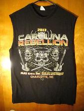Carolina Rebellion 2013 Concert Sleeveless T Shirt Medium Black Aic Soundgarden+