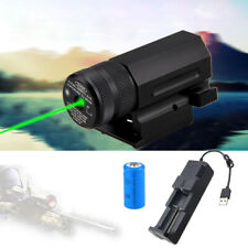 Compact Tactical Green Dot Laser Sight Quick Release Pistol/Rifle Rail Mount