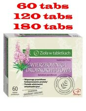 Willow herb Epilobium parviflorum  680mg - 60 tabs Adelfilla de flor pequeña