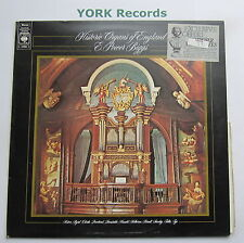 72980-E Power Biggs-Historic Organs of England-Excellent ARNAQUE LP record