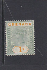 Grenada 1895 Scott # 46 the One Shilling value Mint H very fine cat value @ $29
