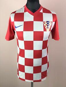 Croatia 2014/2015 NIKE Home Football Shirt Men's Size S Hrvatska Soccer Jersey
