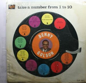 Benny Golson Lp - Take A Number From 1 To 10 On Argo - Nm (Partially Sealed)