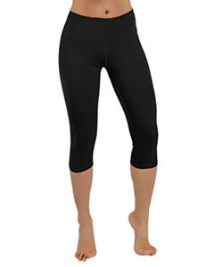 Elegance Women`s/Girls Cropped Elasticated Plain Cotton Leggings&plus size(2191)