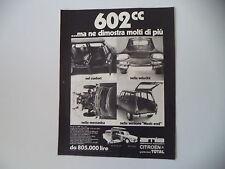 advertising Pubblicità 1970 CITROEN AMI8 AMI 8