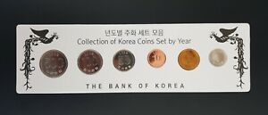 Korea South privately made  Uncirculated  6-Coin Set