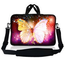 "15.6"" Laptop Sleeve Bag Case w Shoulder Strap HP Dell Asus Acer Butterfly S48"