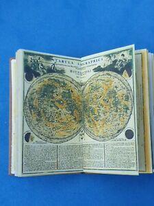 1:12 Scale Book, Celestial Atlas (Georgian) 1742, Crafted by ken Blythe
