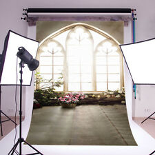 Wedding White Backdrop Photography Prop Studio Photo Vinyl Background 5X7FT 6059