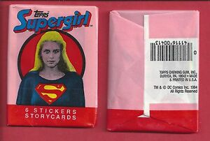 1984 topps Supergirl  single Wax Pack