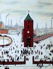 Original Northern Art Peinture à l'huile par Jim Glennie Tour de l'Horloge