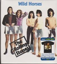 Wild Horses [Single] [w/Sticky Fingers T-Shirt] by The Rolling Stones NEW!