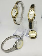 Timex watch lot x4 watches for parts and repair