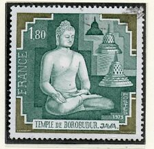 TIMBRE FRANCE OBLITERE N° 2036 TEMPLE DE BOROBUDUR JAVA  Photo non contractuelle