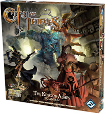 Fantasy Flight Boardgame City of Thieves - The King of Ashes Box