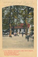 Ak, Restaurant u. Cafe Wehl Hameln, 1911 (K)19636