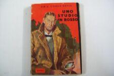 SIR ARTHUR CONAN DOYLE-UNO STUDIO IN ROSSO-RIZZOLI-1952 PRIMO DI SHERLOCK HOLMES