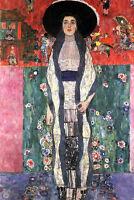 Dream-art Oil painting Gustav Klimt - Portrait of Adele Bloch-Bauer II on canvas