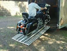 Aluminum Ramp 6 ft. - Motorcycles Onto Trailers - USA Ramps 444MCDR