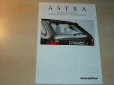 21410) Opel Astra Irmscher Prospekt 1998