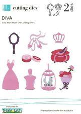 """Quickutz/Lifestyle Crafts C-DT0184 """"Diva""""  1 Cutting Die DISCONTINUED"""