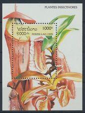 Laos Block 155 postfrisch / Pflanzen ...........................................