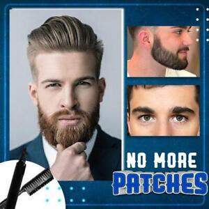2pcs/set Beard Filling Pen Kit Salon Hair Engraving Styling Eyebrow Tool