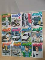 Japanese Comics Complete Full Set Initial D vol. 1-48