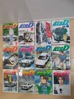 Japanese Comics Complete Full Set Initial D vol. 1-48