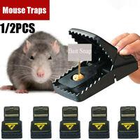 PREMIUM REUSABLE MOUSE TRAPS / RAT TRAP RODENT SNAP TRAP–MOUSE BUSTERS!