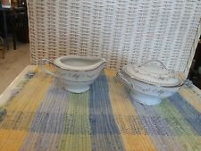 Vintage Noritake Japan Fairmont Creamer & Sugar 6102. Excellent condition.