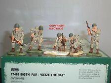 Britains 17461 ww2 505th Parachute Regiment cogli l'attimo in metallo Set Giocattolo Soldato
