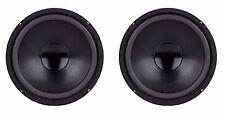 "NEW PAIR 8"" Inch Bass Elegance High Performance Subwoofer Woofer Speaker 4 Ohm"