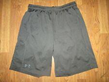 Mens Under Armour Heat Gear athletic shorts sz L Lg basketball running