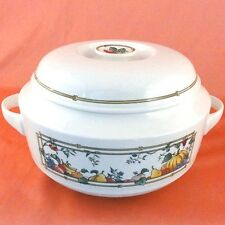 """MON JARDIN Villeroy & Boch COVERED VEGETABLE 8.5""""diam NEW NEVER USED Luxembourg"""