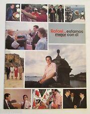 RAFAEL HERNANDEZ COLON 1988 CAMPAIGN / RAFAEL ESTAMOS MEJOR CON EL / PUERTO RICO