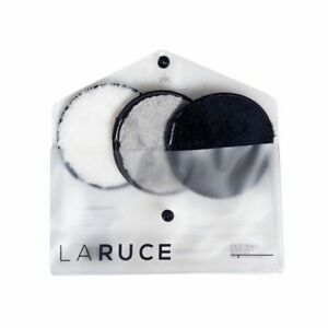 Laruce 3pc Face Disk Reusable Makeup Remover Pads $24 NEW Boxycharm