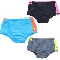 Speedo Boys Performance Color Block Endurance Drag Brief Swimsuit Shorts 8051420