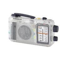 Sangean MMR-77CL AM/FM Radio Self-Powered Hand Crank without Speaker - Clear