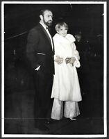 James Bond Sean Connery Diane Cilento Original 1964 Candid London Press Photo