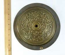 Floor Base Cast Solid Brass Lamp Part Custom Rare Unused Vintage in Storage