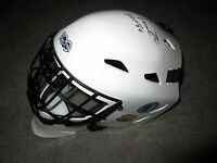 BERNIE PARENT Philadelphia FLYERS SIGNED full-size Goalie Mask Beckett BAS  COA