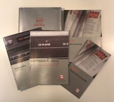 SEAT LEON OWNERS PACK / HANDBOOK COMPLETE WITH WALLET 2000~2005 (2003)